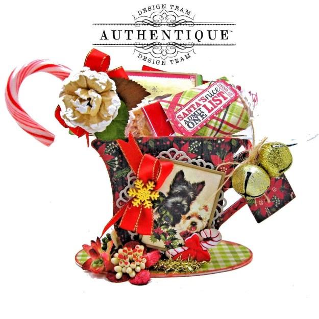 Authentique Nostalgia Christmas Teacups by Kathy Clement Photo 04