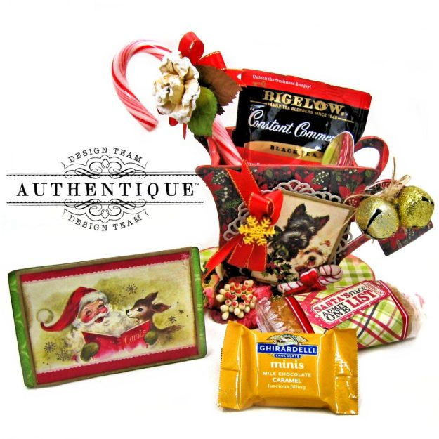 Authentique Nostalgia Christmas Teacups by Kathy Clement Photo 05