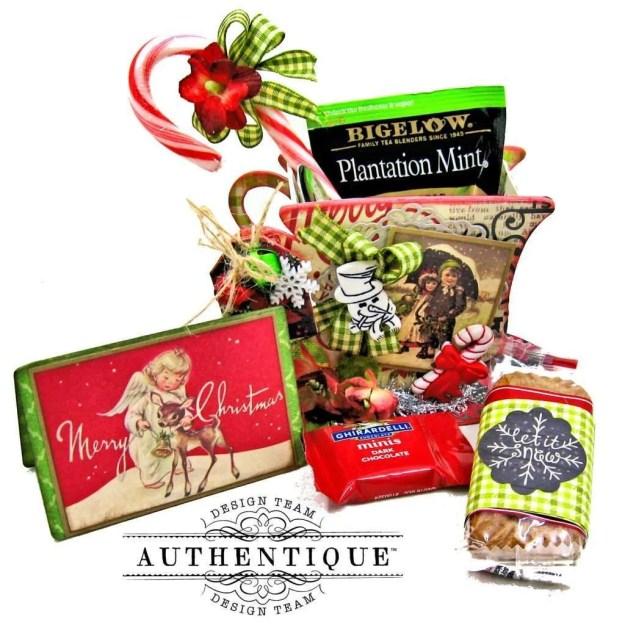 Authentique Nostalgia Christmas Teacups by Kathy Clement Photo 11