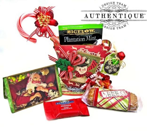 Authentique Nostalgia Christmas Teacups by Kathy Clement Photo 03