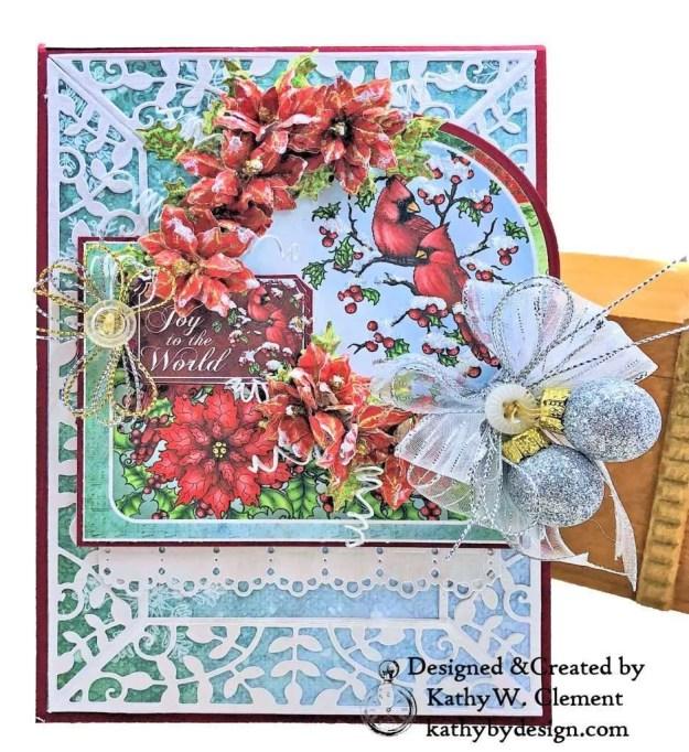 Heartfelt Creations Festive Holly Christmas Card Folio by Kathy Clement Photo 03