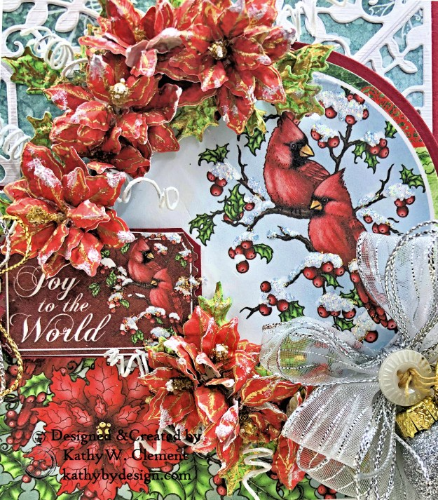 Heartfelt Creations Festive Holly Christmas Card Folio by Kathy Clement Photo 04