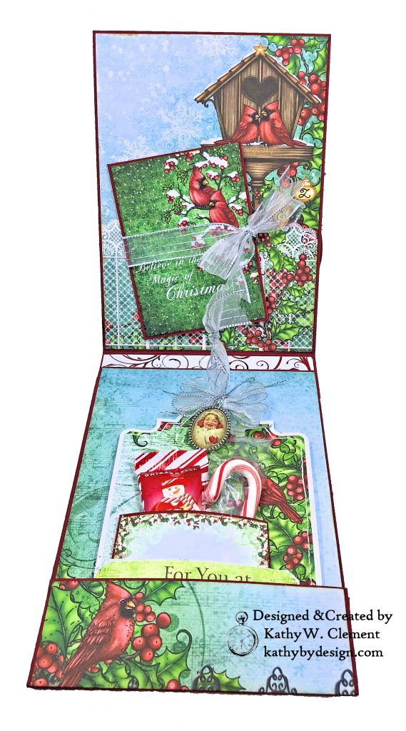 Heartfelt Creations Festive Holly Christmas Card Folio by Kathy Clement Photo 05