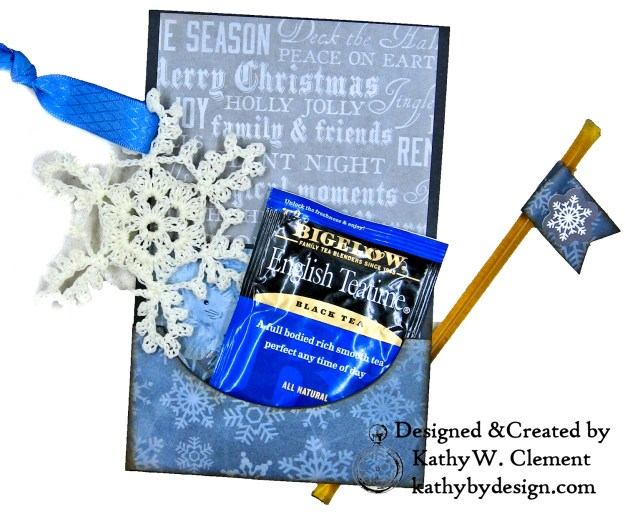 Winter Blues Christmas Folio Kaisercraft Frosted by Kathy Clement for Really Reasonable Ribbon Photo 10