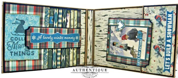 Authentique Solitude Waterfall Folio Tutorial by Kathy Clement Photo 07