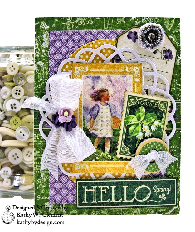 Graphic 45 Children's Hour Stack of Card by Kathy Clement Kathy by Design Photo 04