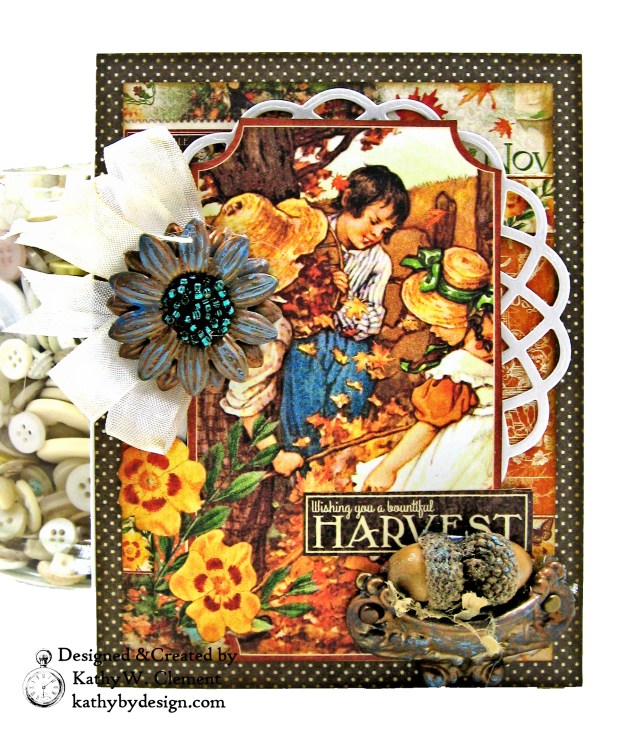 Graphic 45 Children's Hour Stack of Card by Kathy Clement Kathy by Design Photo 12