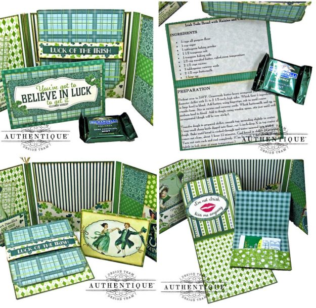 Authentique Clover Folio Tutorial Inserts and Pockets by Kathy Clement Kathy by Design