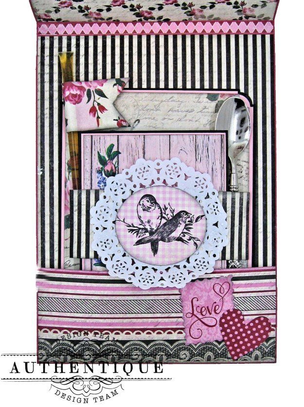 Authentique Romance Shaker Valentine Tutorial by Kathy Clement Kathy by Design Photo 07