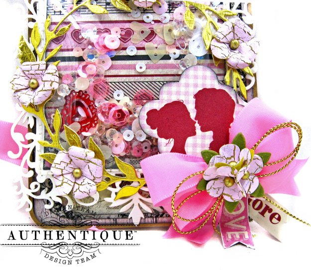Romantic Valentine Shaker Tags by Kathy Clement Product by Authentique Paper Photo 02