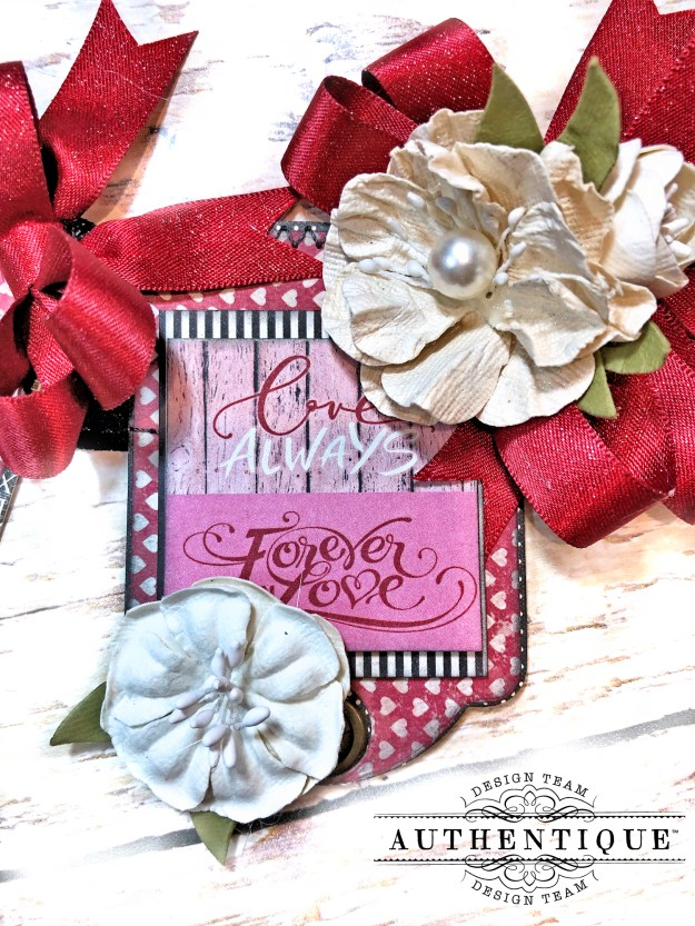 Authentique Romance Romantic Valentines Day Banner by Kathy Clement Kathy by Design PHoto 09