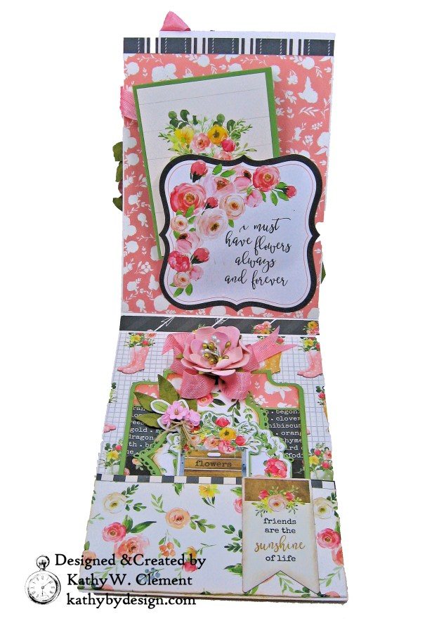 Spring Market Card Folio Kathy by Design