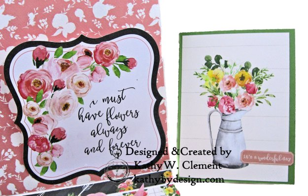 Carta Bella Card Folio Spring Market by Kathy Clement