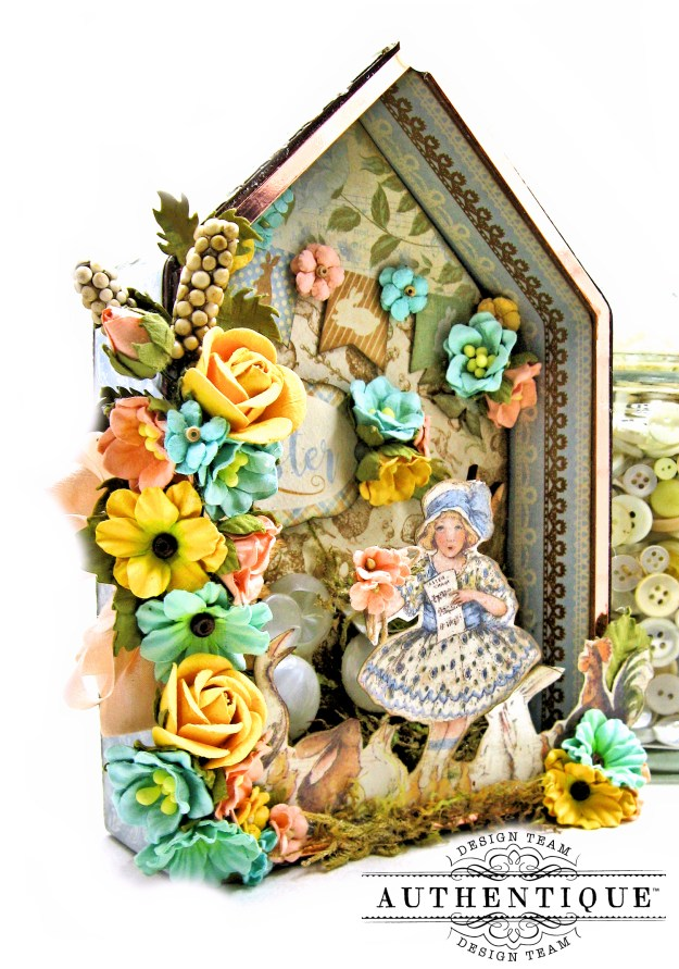 Authentique Abundant Easter Bunny Hideaway House by Kathy Clement Kathy by Design Photo 02