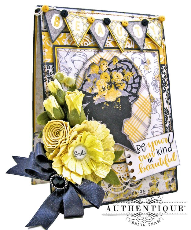 Authentique Beautiful Poised Card Folio Tutorial by Kathy Clement Kathy by Design Photo 02