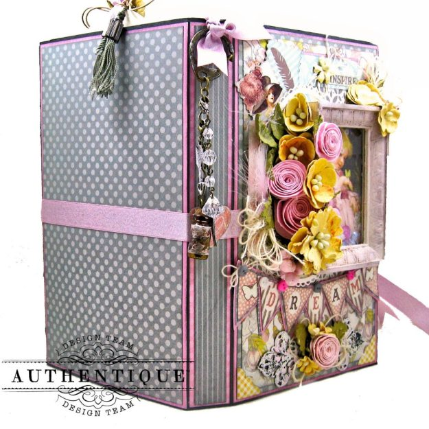 Authentique Dreamy Folio Tutorial Kathy Clement Kathy by Design Photo 04