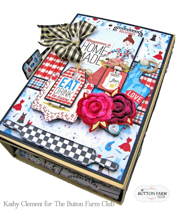 Button Farm Club Authentique Ingredient Recipe Album Kit by Kathy Clement Kathy by Design Photo 02
