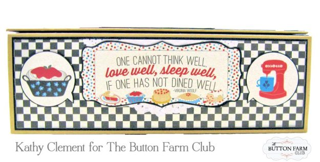 Button Farm Club Authentique Ingredient Recipe Album Kit by Kathy Clement Kathy by Design Photo 06