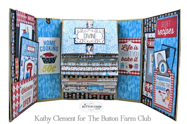 Button Farm Club Authentique Ingredient Recipe Album Kit by Kathy Clement Kathy by Design Photo 07