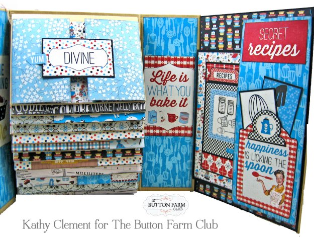 Button Farm Club Authentique Ingredient Recipe Album Kit by Kathy Clement Kathy by Design Photo 10