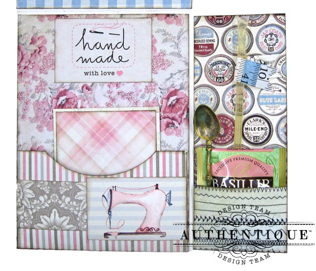 Authentique Stitches Mother's Day Sewing Card Folio Kathy Clement Kathy by Design Photo 07