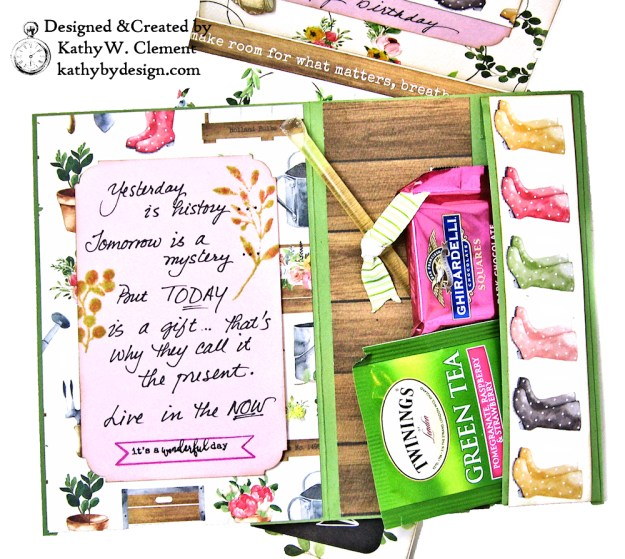 Carta Bella Spring Market Birthday Card by Kathy Clement Kathy by Design Photo  05
