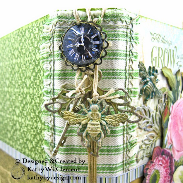 Altered Metal Embellishments Tutorial by Kathy Clement Kathy by Design for ButterBee Scraps Photo 02