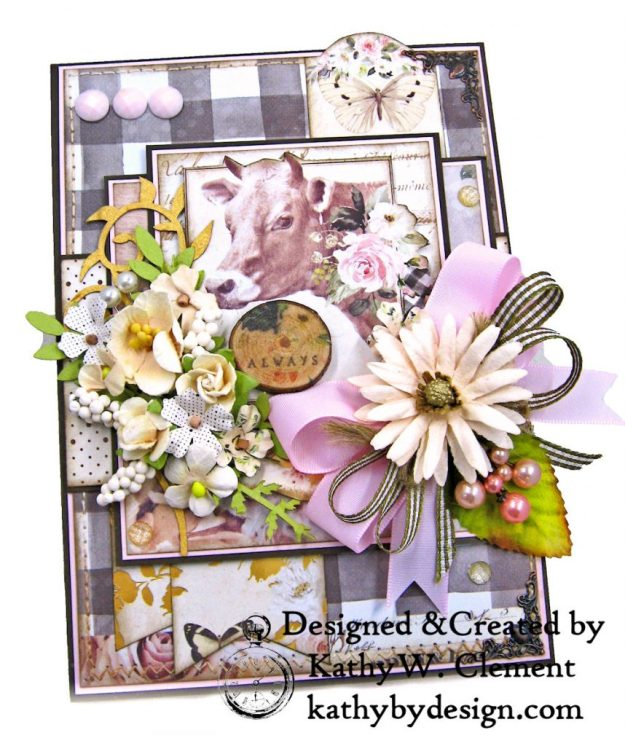 Prima Spring Farmhouse Get Well Card by Kathy Clement Kathy by Design Photo 02