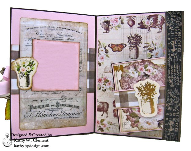 Prima Spring Farmhouse Get Well Card by Kathy Clement Kathy by Design Photo 04