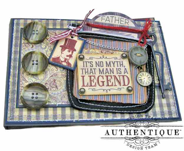Authentique Mister Pocket Card by Kathy Clement Kathy by Design Photo 02