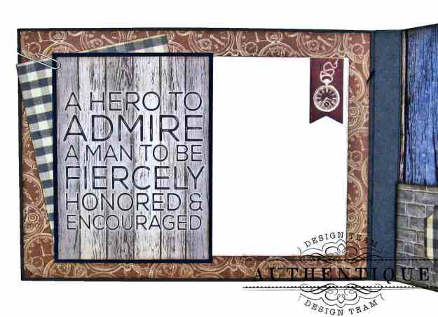 Authentique Mister Pocket Card by Kathy Clement Kathy by Design Photo 06