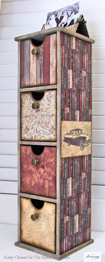 Authentique Mister Desk Organizer Kit for Dad by Kathy Clement Kathy by Design for The Button Farm Club Photo 03