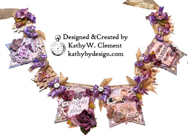 Prima Lavender Lilac Season Banner by Kathy Clement Kathy by Design Photo 02