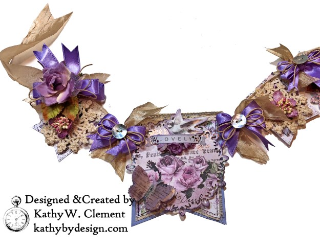 Prima Lavender Lilac Season Banner by Kathy Clement Kathy by Design Photo 03