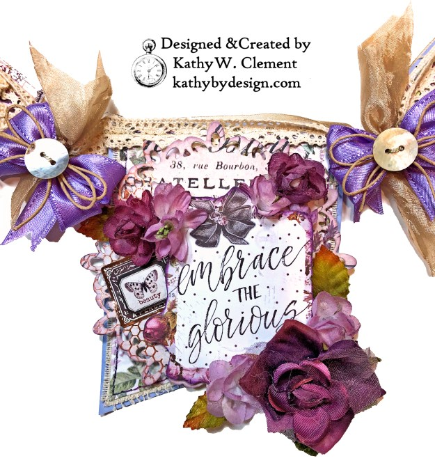 Prima Lavender Lilac Season Banner by Kathy Clement Kathy by Design Photo 06