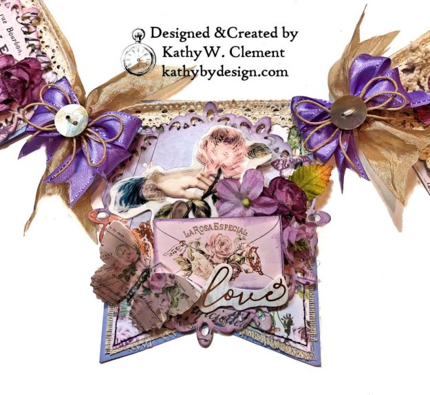 Prima Lavender Lilac Season Banner by Kathy Clement Kathy by Design Photo 07
