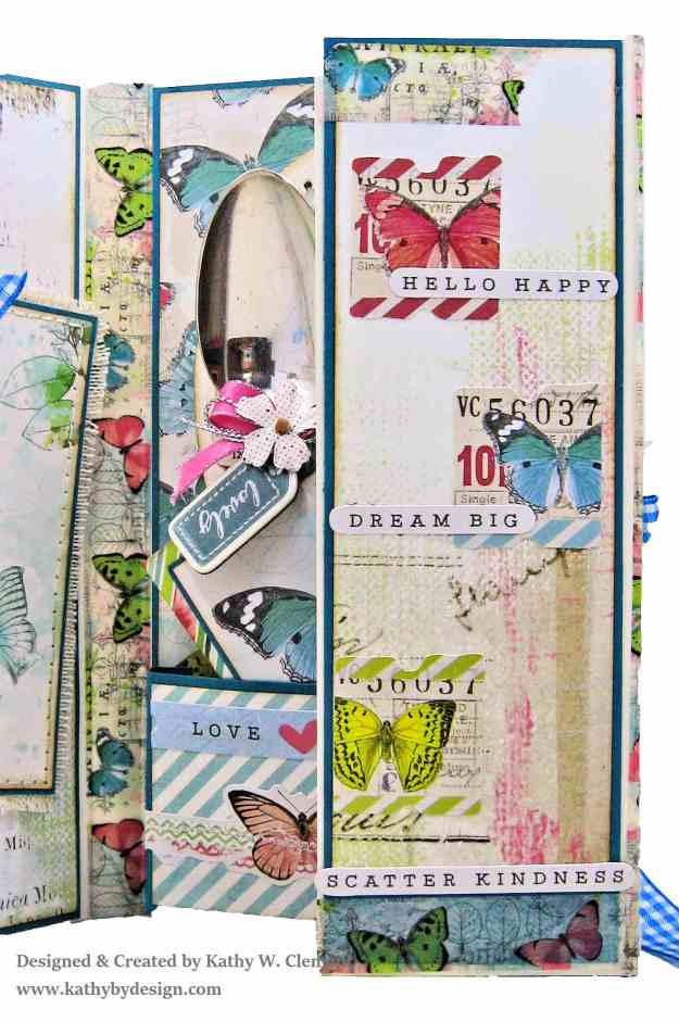Simple Stories Simple Vintage Botanicals Folio by Kathy Clement for Really Reasonable Ribbon Photo 06