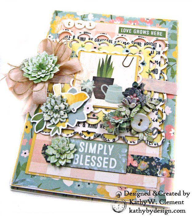 Simple Stories Spring Farmhouse Simply Blessed Card Folio by Kathy Clement Kathy by Design Photo 04