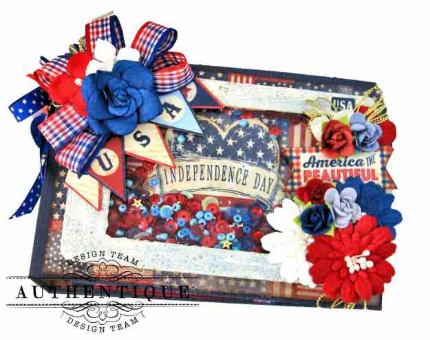 Authentique Liberty Waterfall Mini Tutorial by Kathy Clement Kathy by Design Photo 01