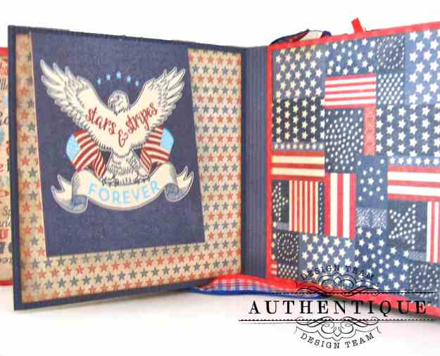 Authentique Liberty Waterfall Mini Tutorial by Kathy Clement Kathy by Design Photo 06