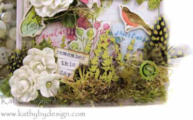 Morning Meadow Mixed Media Card Folio Simple Stories Simple Vintage Botanicals by Kathy Clement Kathy by Design Photo 04