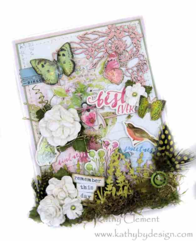 Morning Meadow Mixed Media Card Folio Simple Stories Simple Vintage Botanicals by Kathy Clement Kathy by Design Photo 02