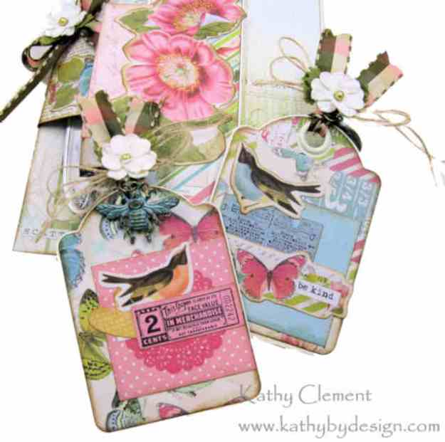 Morning Meadow Mixed Media Card Folio Simple Stories Simple Vintage Botanicals by Kathy Clement Kathy by Design Photo 06