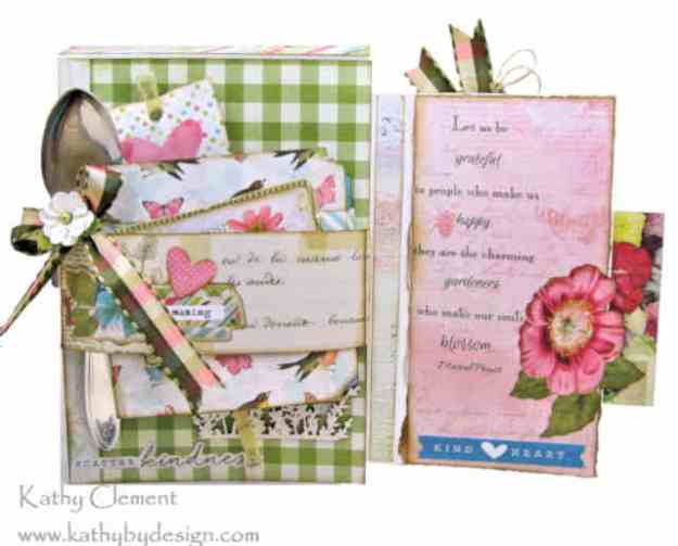 Morning Meadow Mixed Media Card Folio Simple Stories Simple Vintage Botanicals by Kathy Clement Kathy by Design Photo 08