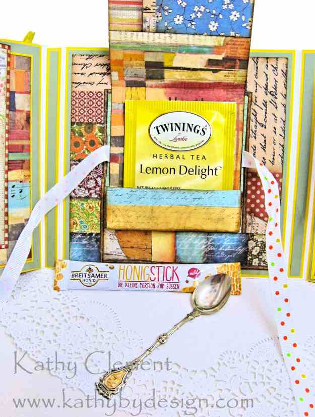 Stamperia Patchwork Tea Folio by Kathy Clement for Really Reasonable Ribbon Photo 09