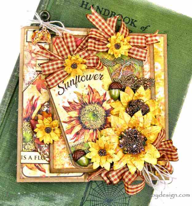 Ciao Bella Sound of Autumn Card Kathy Clement Kathy by Design Photo 01