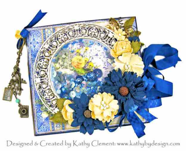 Ciao Bella Sicilia Shaker Box Folio by Kathy Clement Kathy by Design for Really Reasonable Ribbon Photo 01