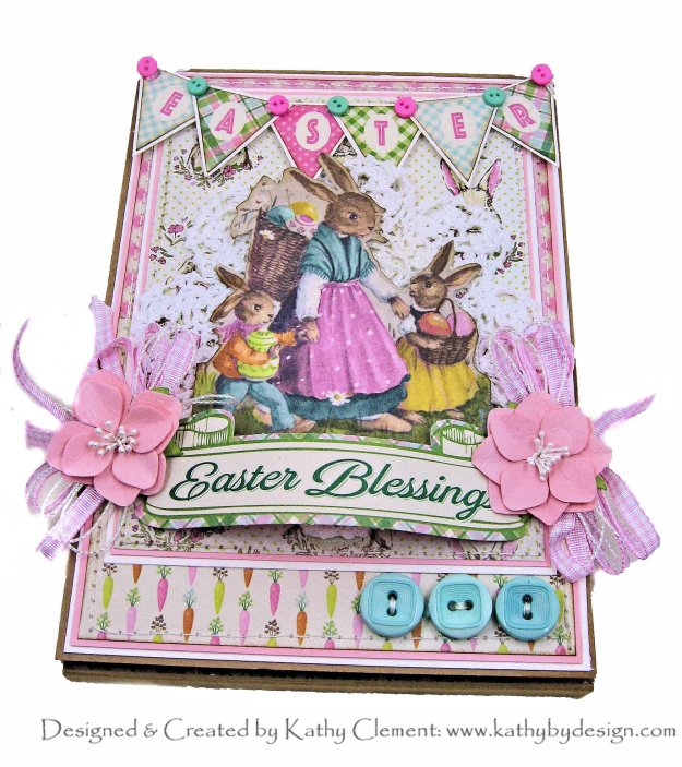 Authentique Cottontail Easter Blessings by Kathy Clement Kathy by Design Photo 01