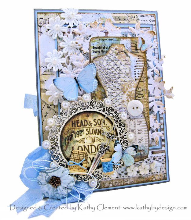 Stamperia Atelier Card Folio by Kathy Clement Kathy by Design Photo 01
