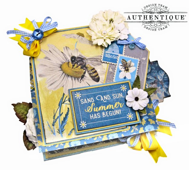 Authentique June Desk Calendar Tutorial by Kathy Clement Kathy by Design Photo 01